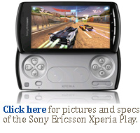 Click here for Sony Ericsson's Xperia Play PlayStation phone