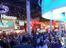CES show floor FierceWireless