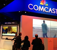 Comcast 4K booth Cable Show