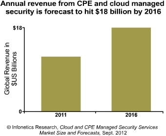 Infonetics CPE & cloud revenue 2012
