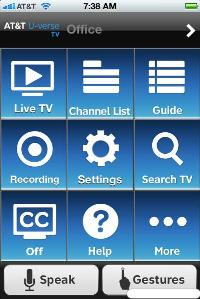 AT&T Easy Remote app