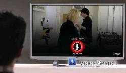 Google TV voice control video