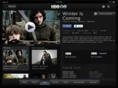 HBO Go iPad screenshot