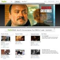 Hulu movies page