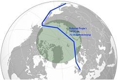 Polarnet Arctic route