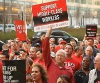 Verizon union rally 2011