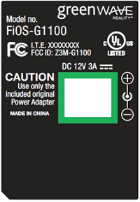 Greenwave FiOS-G1100
