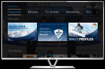 Comcast X1 Olympics on demand