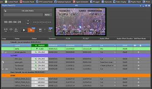 EVS IP producer play list