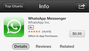 WhatsApp Age Rating