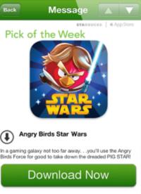 Starbucks - Angry Birds