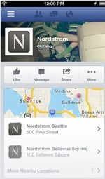Facebook Page - Nordstrom new