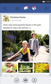 Facebook - Windows Phone 8