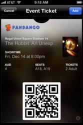 Fandango - Passbook