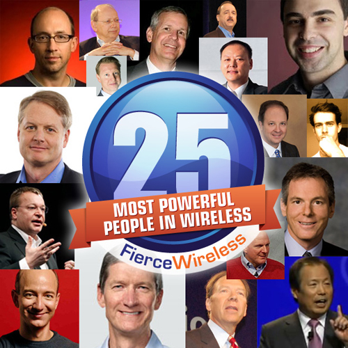 Top 25 Most Powerful People in U.S. Wireless 2012