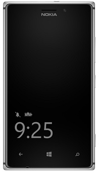 Nokia - Glance Screen