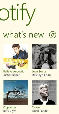 Spotify - Windows Phone