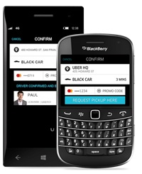 Uber - BlackBerry and Windows Phone