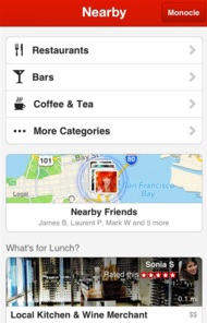 Yelp Nearby
