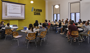 Flatiron School classroom